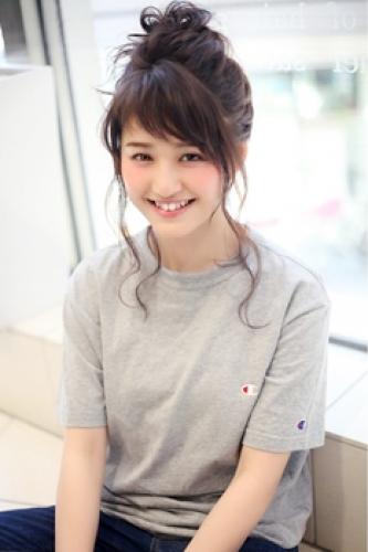 ふんわりお団子アレンジ☆